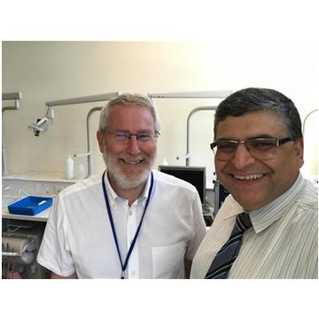Dr Nekoofar and Professor Paul Dummer